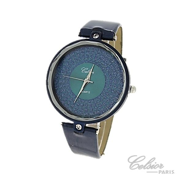 Montre fond strass Celsior
